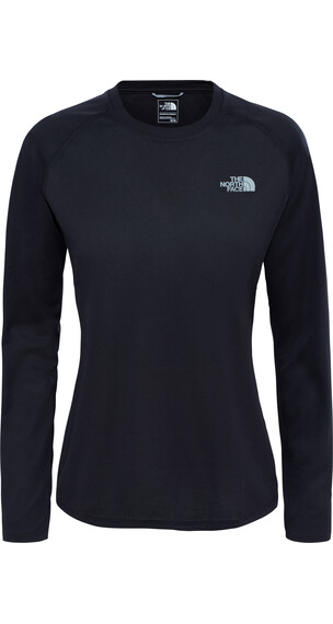 The North Face Reaxion Amp Crew Hardloopshirt lange mouwen Heren zwart